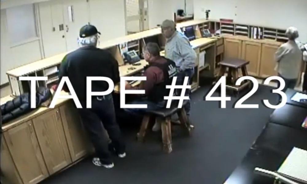 Tape # 423
